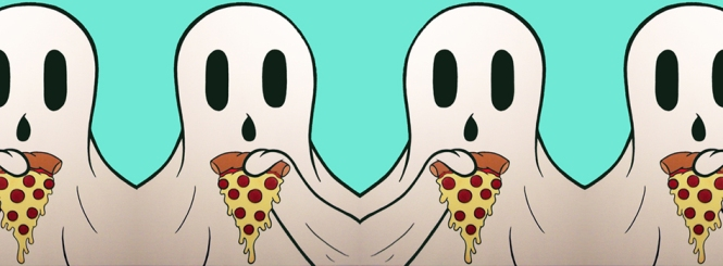 Click the ghosties to go to my actual website.